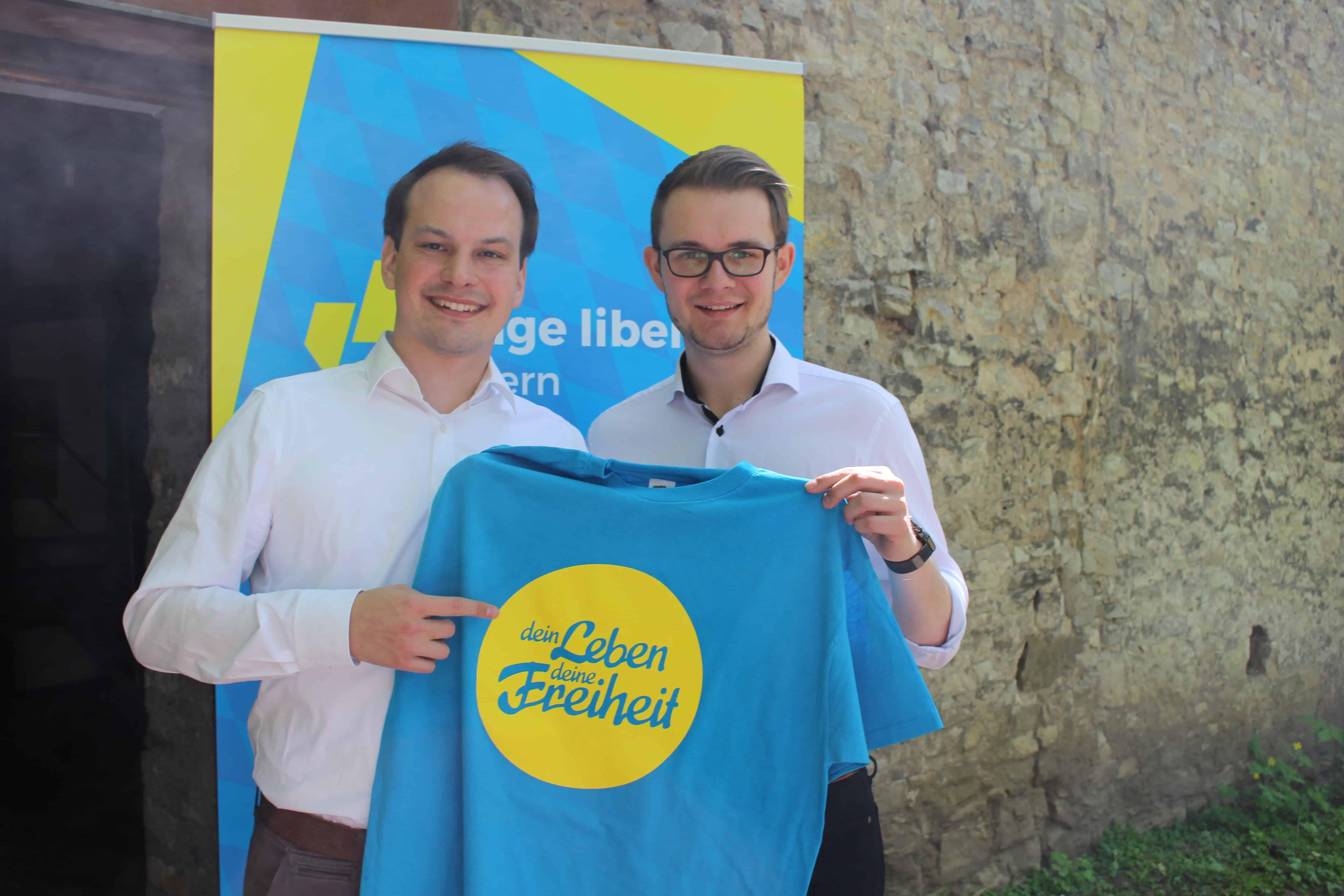 Matthias Fischbach ist Spitzenkandidat der Jungen Liberalen Bayern zur Landtagswahl